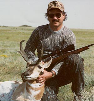 Jay with antelope